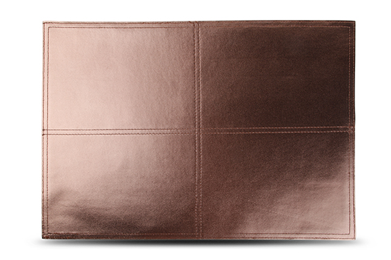 S&P Placemat mettalic bronze