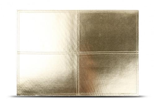 S&P Placemat mettalic goud