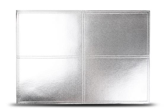 S&P Placemat mettalic zilver