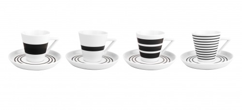 S&P Stripes koffiekopjes set