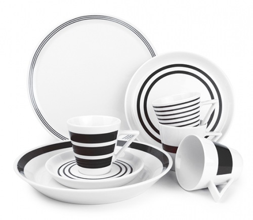 S&P Stripes servies set