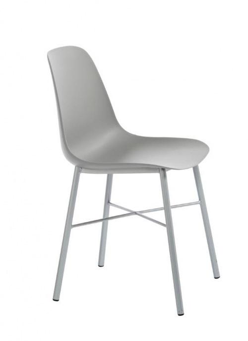 Perfecta stoel Cloë kuipstoel grijs