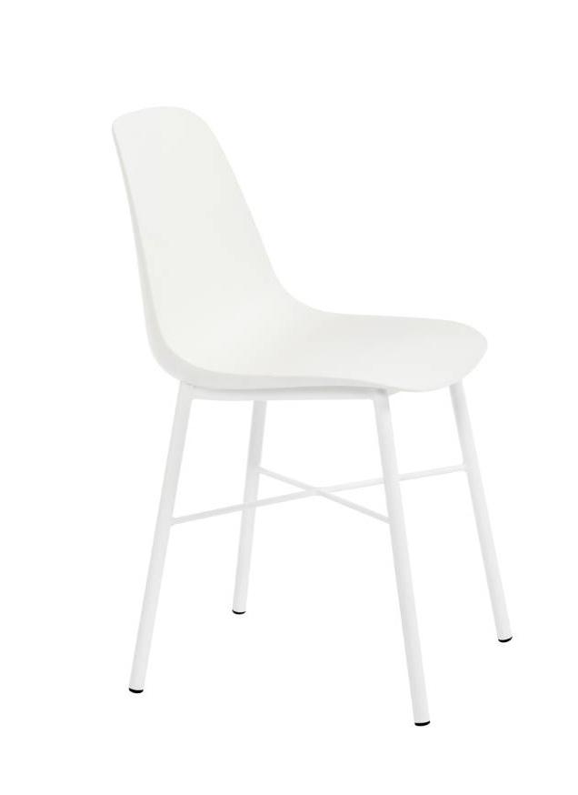 Perfecta stoel Cloë kuipstoel wit