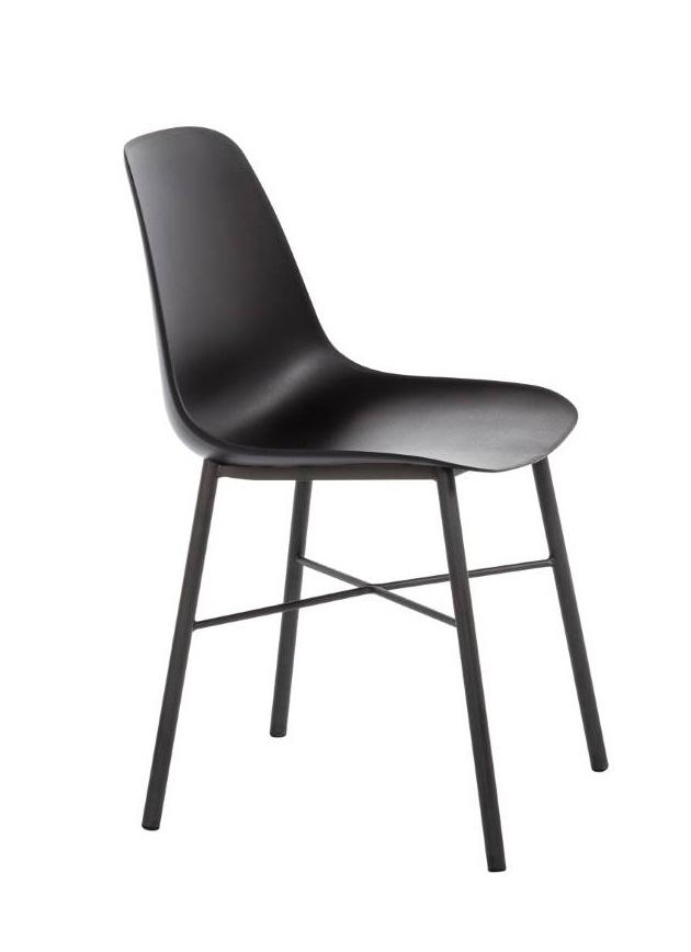 Perfecta stoel Cloë kuipstoel zwart