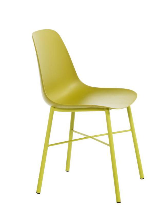 Perfecta stoel Cloë kuipstoel groen