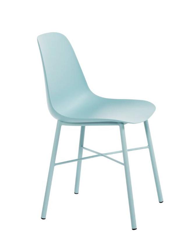 Perfecta stoel Cloë kuipstoel blauw