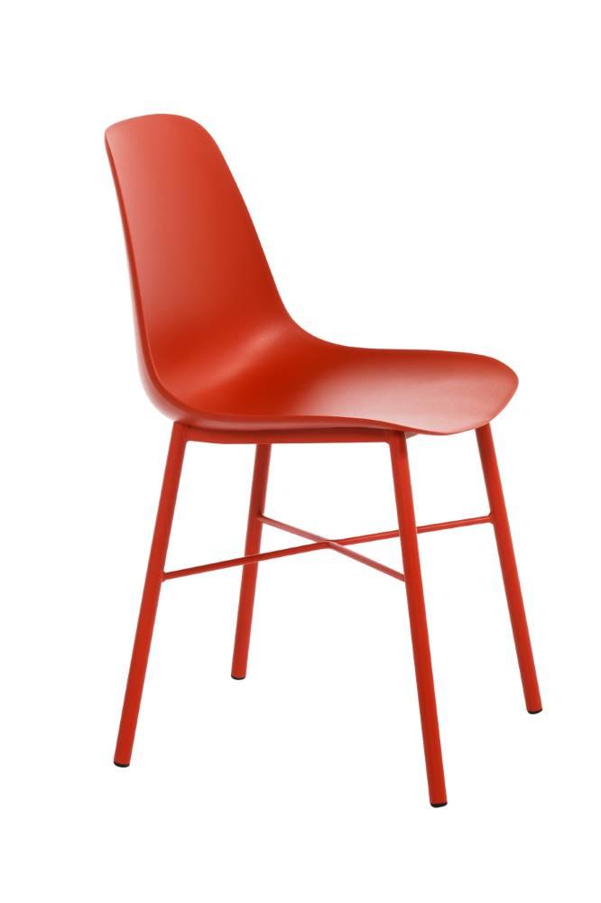 Perfecta stoel Cloë kuipstoel rood