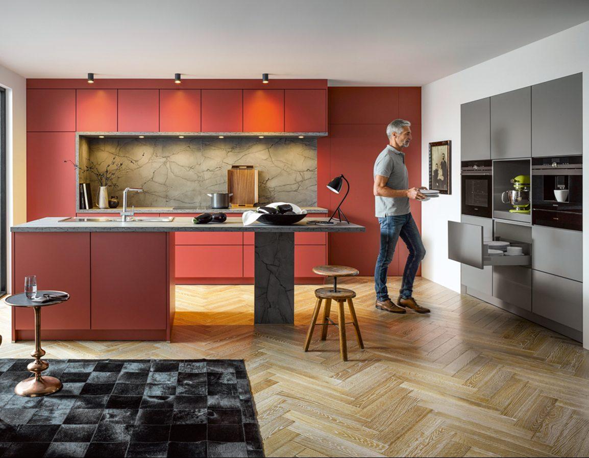 contur moderne keuken op maat